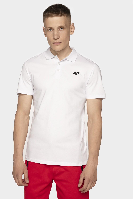 Imagine  Tricou Polo Pentru Barbati Tsm307 Alb