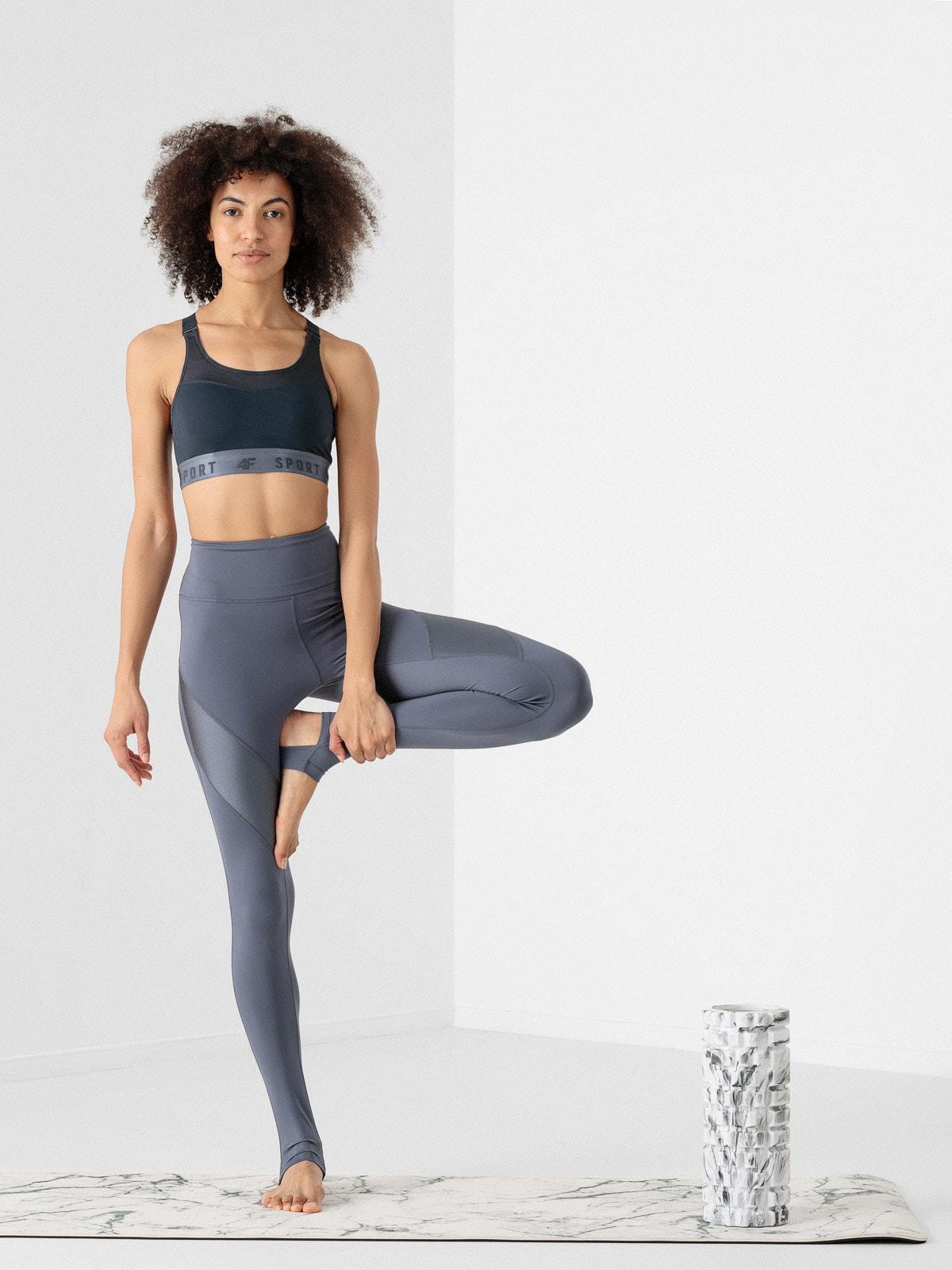 Imagine Colanti De Yoga Cu Banda La Talpi