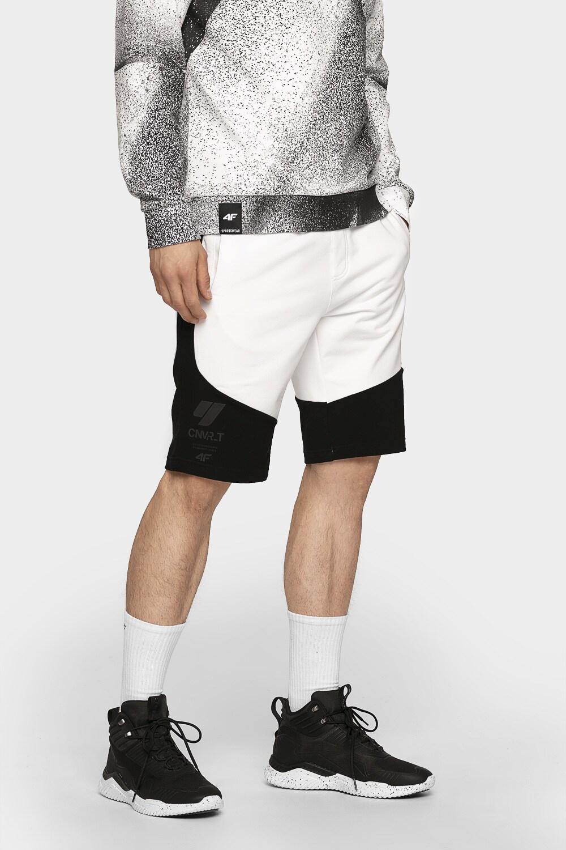 Imagine  Pantaloni Scurti Pentru Barbati Skmd200 Negrualb