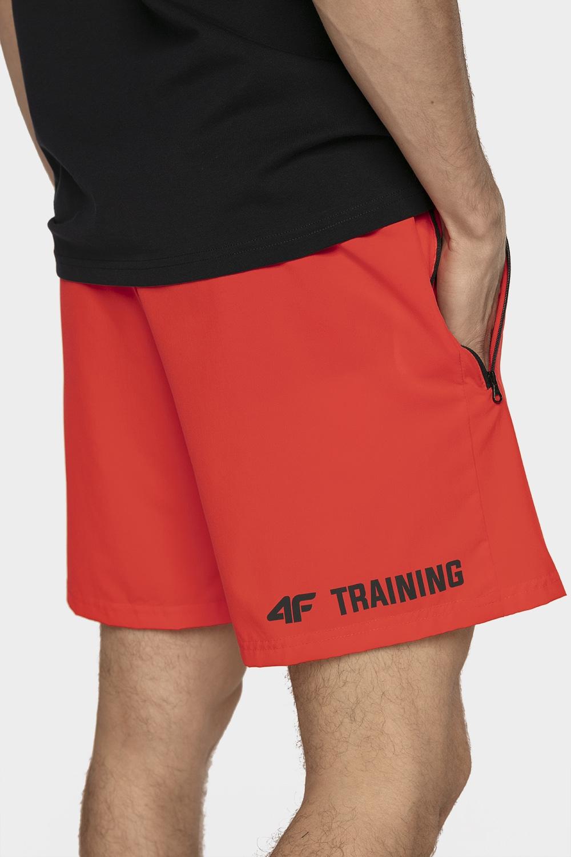 Imagine Pantaloni Scurti De Antrenament Pentru Barbati Skmf006 Rosu