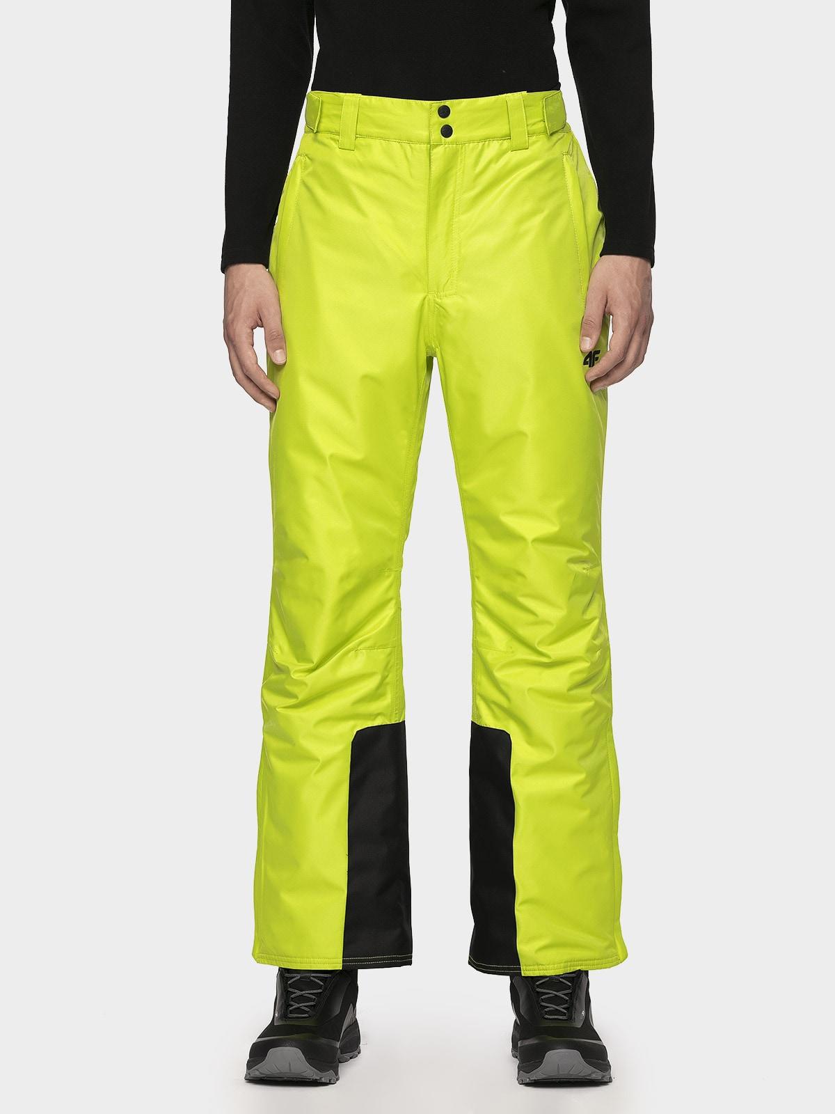 Imagine  Pantaloni De Schi Pentru Barbati Spmn001 Verde Iarba