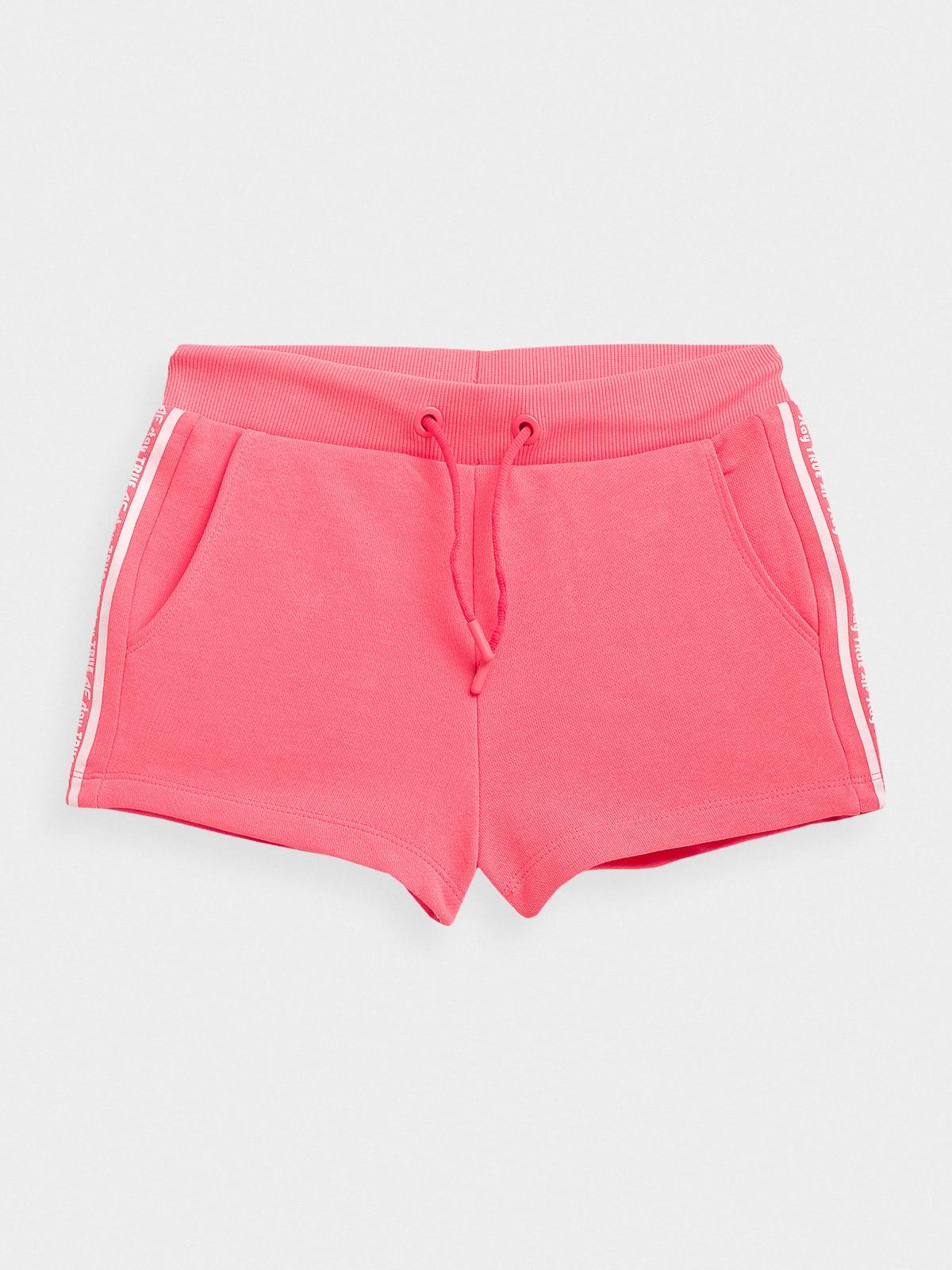 Imagine Pantaloni Scurti De Molton Pentru Fete 122 164