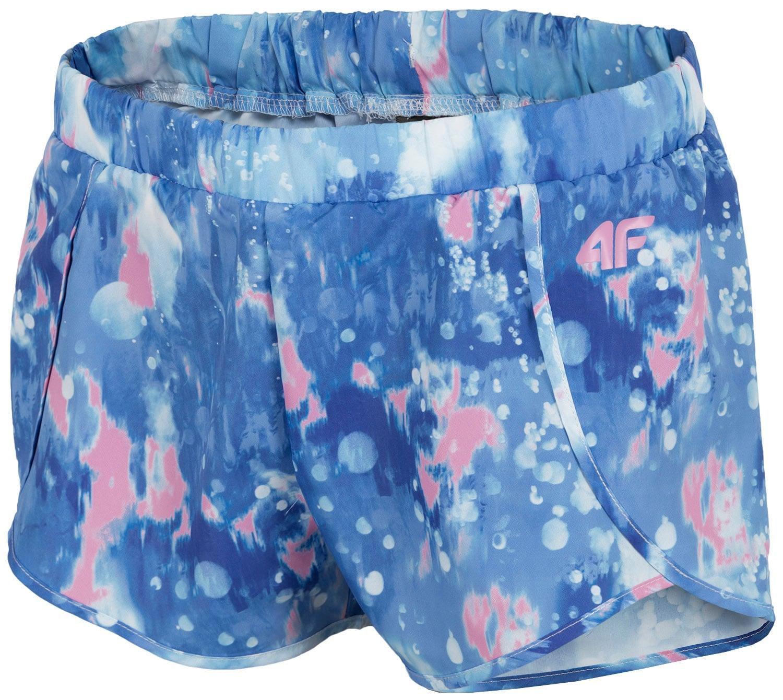 Imagine Pantaloni Scurti Pentru Fete 122 164 Jskdt208 Albastru Deschis