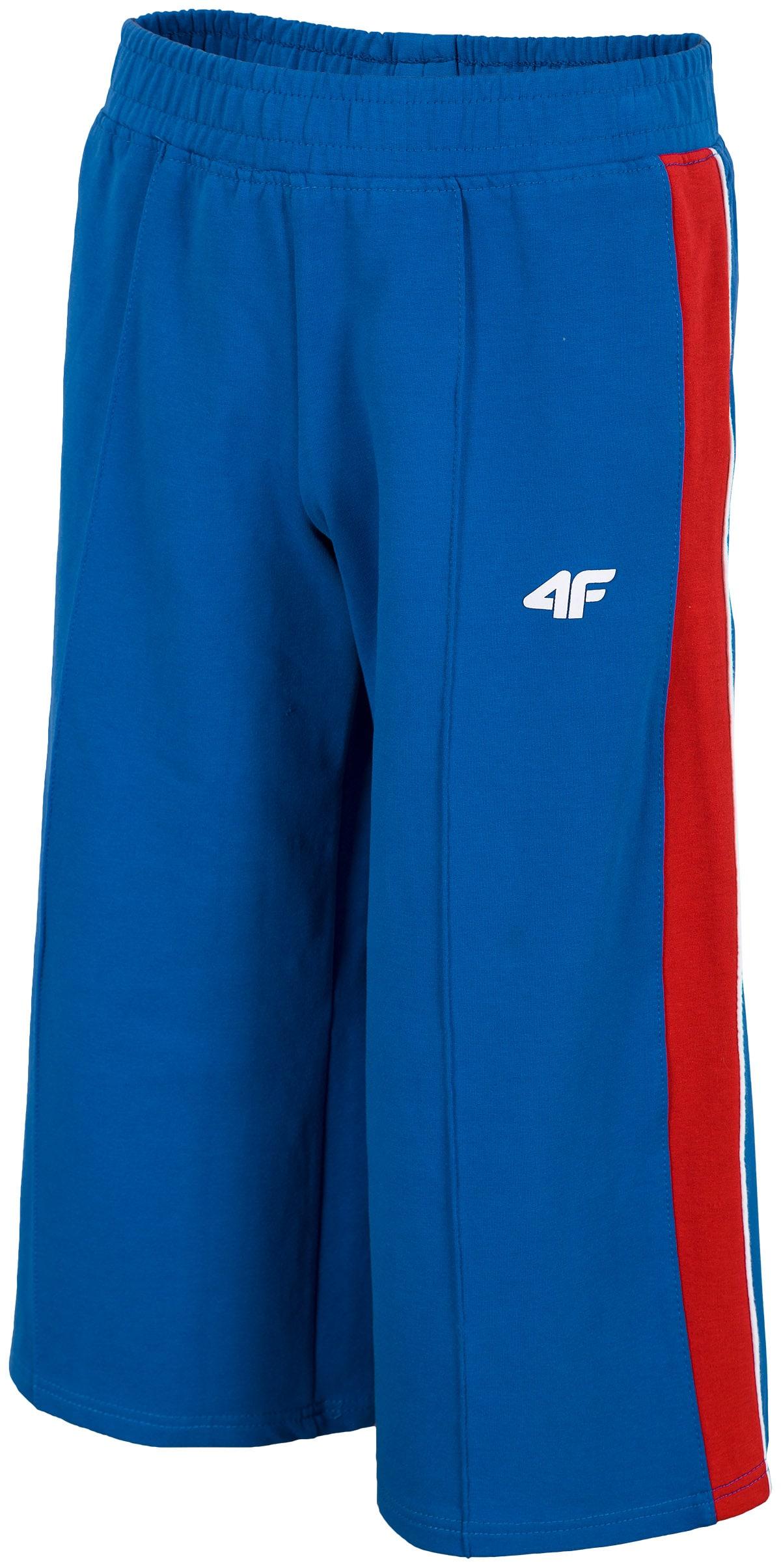 Imagine  Pantaloni De Molton Pentru Fete 122 164 Jspdd205 Cobalt