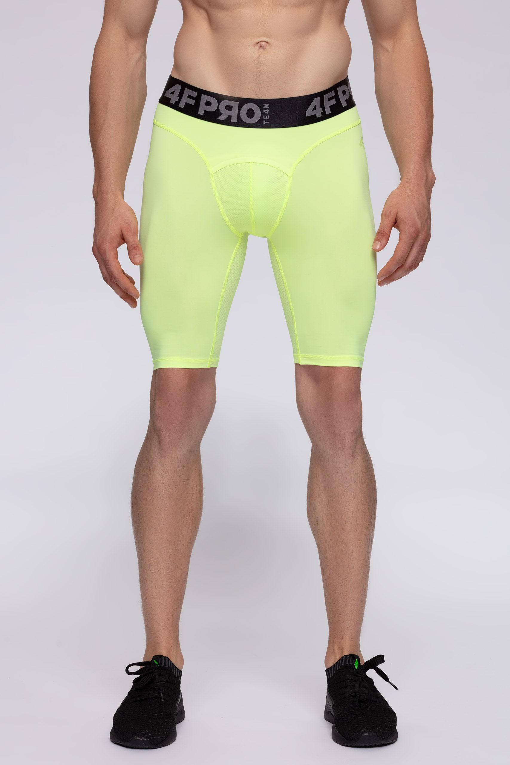 Imagine Pantaloni Scurti Baselayer Pentru Barbati 4fpro Spmf406 Galben