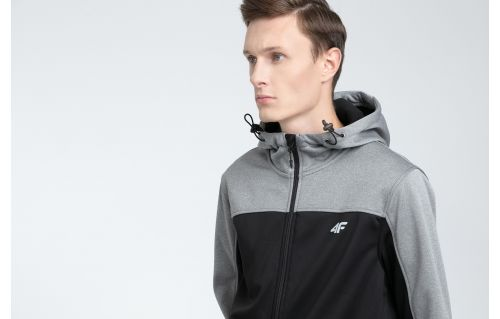 Jacheta softshell pentru bărbaţi SFM002 - negru