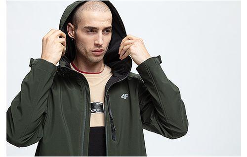 Jacheta softshell pentru bărbați SFM205 - kaki