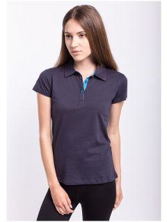 tricou polo pentru femei TSD050 - bleumarin