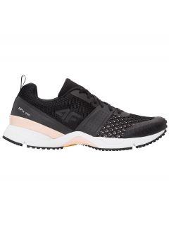 încălţăminte de alergare pentru femei OBDS100 - negru