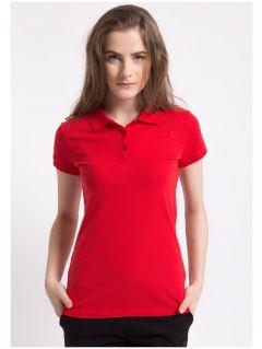 tricou polo pentru femei TSD051A - roșu
