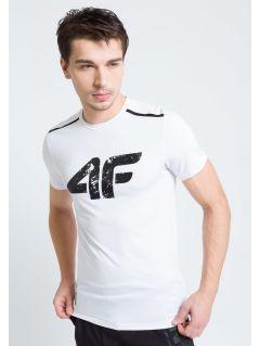 Tricou de antrenament pentru bărbaţi TSMF208A - alb
