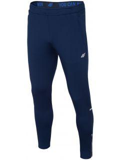 Pantaloni de antrenament pentru bărbaţi SPMTR202 - bleumarin