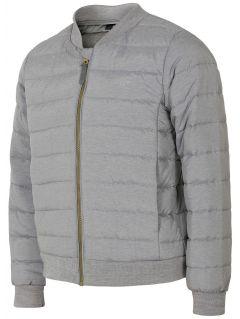 Jacheta din puf pentru fetițe JKUDP105 - gri