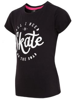 Tricou pentru fetițe JTSD106A - negru