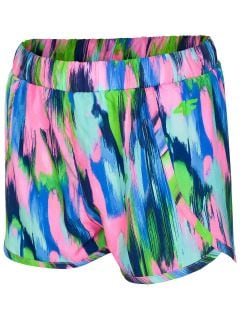 Pantaloni scurti de plaja pentru fete mari JsKDT201A - multicolor