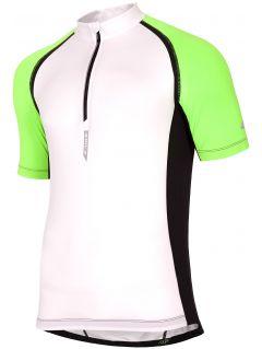 tricou ciclism pentru bărbaţi RKM002 - alb