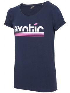 Tricou pentru fete mari JtSD218a - blaumarin