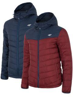 Jachetă din puf pentru bărbați KUM054 - bleumarin închis