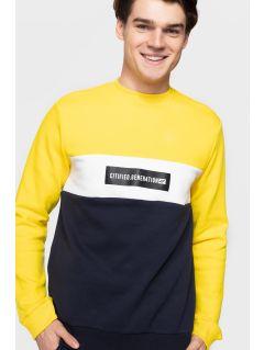 Bluză pentru bărbați BLM205 - galben