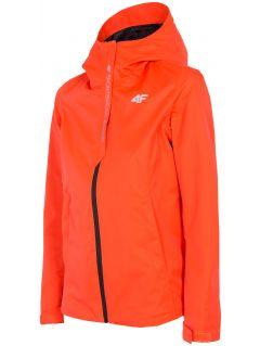 Jachetă de oraș pentru femei KUD300 - roșu neon