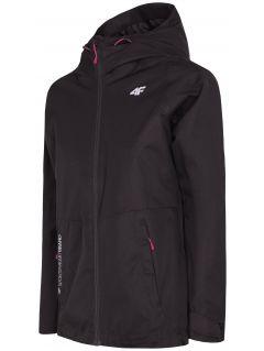 Jachetă de oraș pentru femei KUD301 - negru intens
