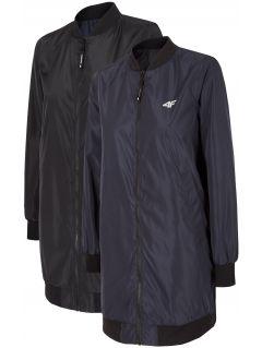 Jachetă pentru femei KUDC290 - negru intens