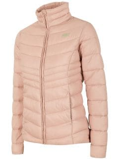 Jachetă din puf pentru femei KUDP300 - roz deschis