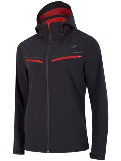 Jachetă softshell pentru bărbați SFM201 - negru intens