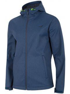 Jachetă softshell pentru bărbați SFM300 - bleumarin închis melanj