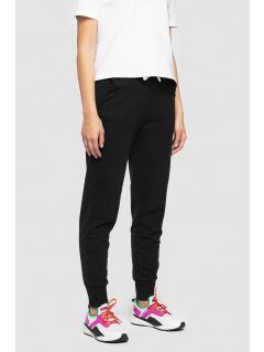 Pantaloni de molton pentru femei SPDD300 - negru profund