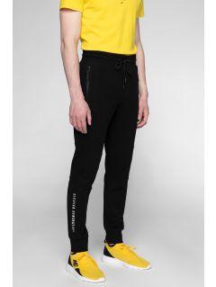 Pantaloni de molton pentru bărbați SPMD201 - negru intens