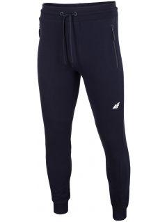 Pantaloni de molton pentru bărbați SPMD201 - bleumarin închis