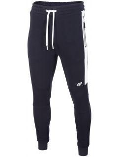 Pantaloni de molton pentru bărbați SPMD206 - bleumarin închis