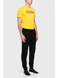 Pantaloni de molton pentru bărbați SPMD301 - negru profund