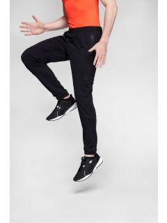Pantaloni de antrenament pentru bărbați SPMTR271 - negru intens