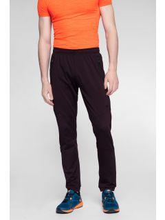 Pantaloni de antrenament pentru bărbați SPMTR271 - roșu burgund