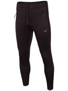 Pantaloni de antrenament pentru bărbați SPMTR272 - negru intens