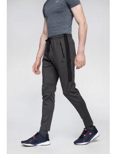 Pantaloni de antrenament pentru bărbați SPMTR272 - gri mediu