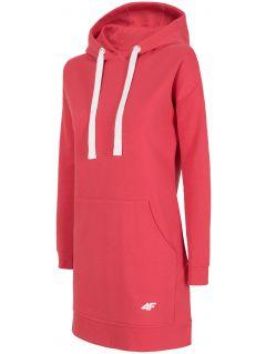 Rochie tricotată  SUDD240 - roșu