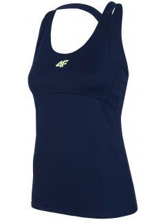 Tricou funcțional pentru femei TSDF205 - bleumarin