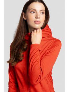 Bluză pentru femei BLD303 - roșu melanj