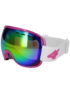Mască de schi pentru femei GGD252 - alb