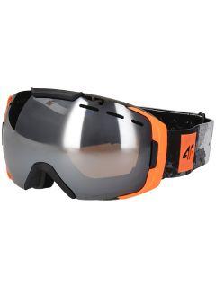 Mască de schi pentru bărbați GGM254 - portocaliu neon