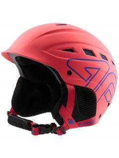 Cască de schi pentru femei KSD250 - coral neon