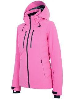 Jachetă de schi pentru femei KUDN160 - fuxie