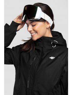 Jachetă de schi pentru femei KUDN206 - negru profund