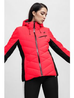 Jachetă de schi pentru femei KUDN256 - roșu