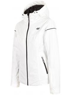Jachetă de schi pentru femei KUDN300 - alb
