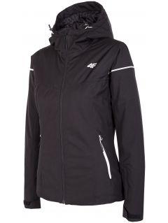Jachetă de schi pentru femei KUDN300 - negru profund