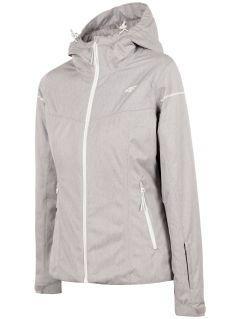 Jachetă de schi pentru femei KUDN300 - gri înspicat lumină melanj